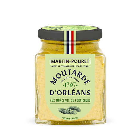 Martin Pouret - Orleans Mustard with Crunchy Pickle pieces