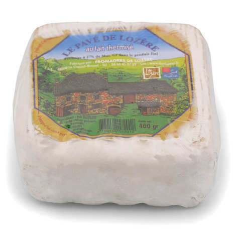 Fromagers de Lozère - Duo Lozère - Le pavé de Lozère - cow's milk cheese