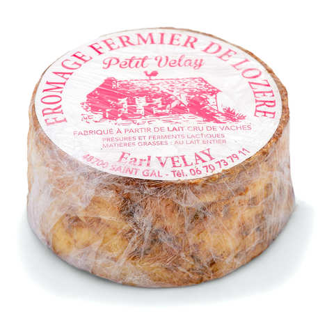 EARL Velay - Le Petit Velay - Farmhouse cheese from Lozère made from raw cow's milk