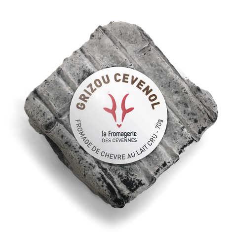 La Fromagerie des Cévennes - Grizou Cévenol - Fromage cendré au lait cru de chèvre