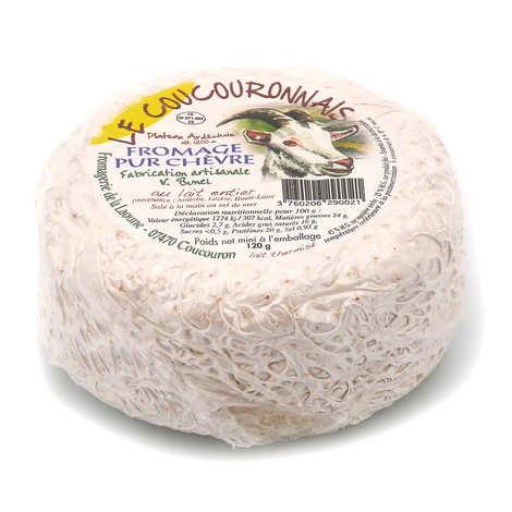 Fromagerie de la Laoune - Le Coucouronnnais - Fromage de chèvre de l'Ardèche