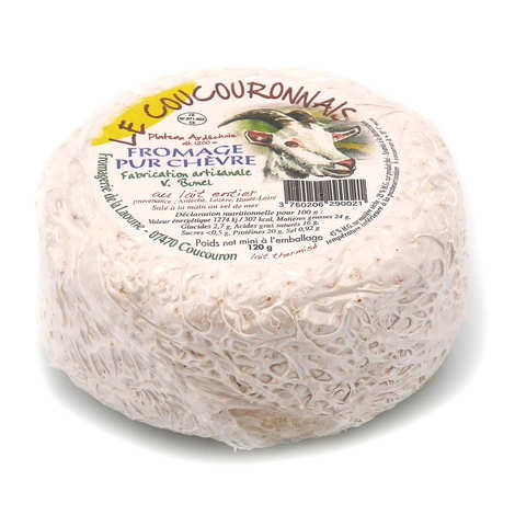 Fromagerie de la Laoune - Le Coucouronnnais - Goat's cheese from the Ardèche region