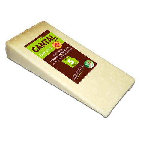 BienManger.com - Cantal entre-deux au lait cru - Fromage AOP