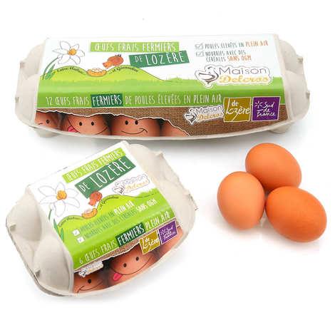 Maison Delcros - Farmer's eggs from Lozere