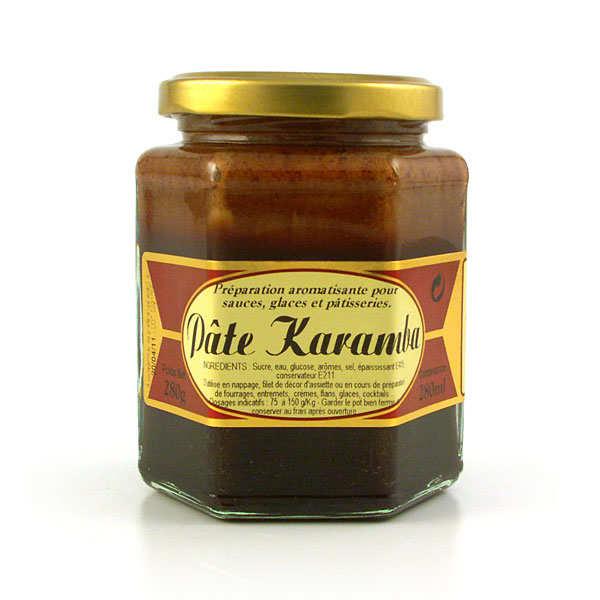 "Pâte de caramel ""Karamba"" pour pâtisserie et desserts"