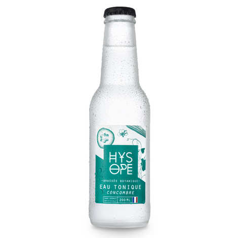 Hysope - Organic and French cucumber tonic water