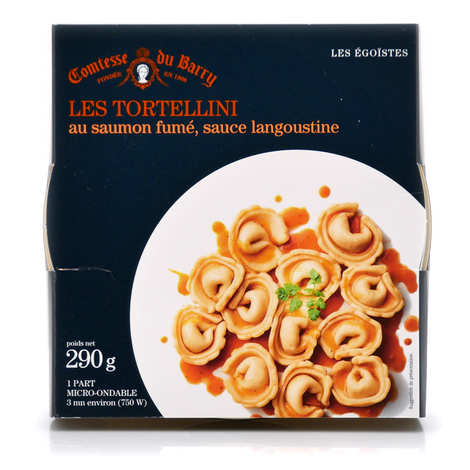 Comtesse du Barry - Tortellini salmon with langoustine sauce