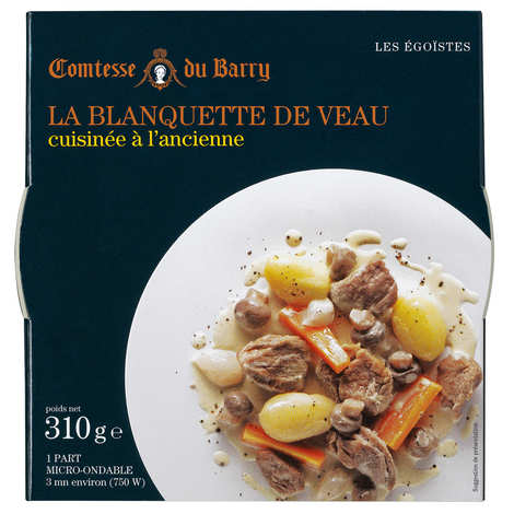 Comtesse du Barry - Blanquette of veal cooked the old-fashioned way