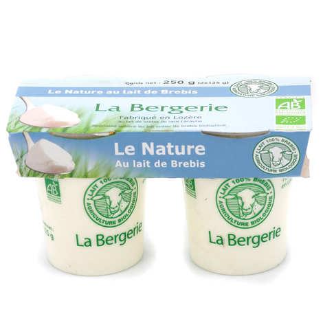 La Bergerie de Lozère - Plain yoghurts with organic ewe's milk
