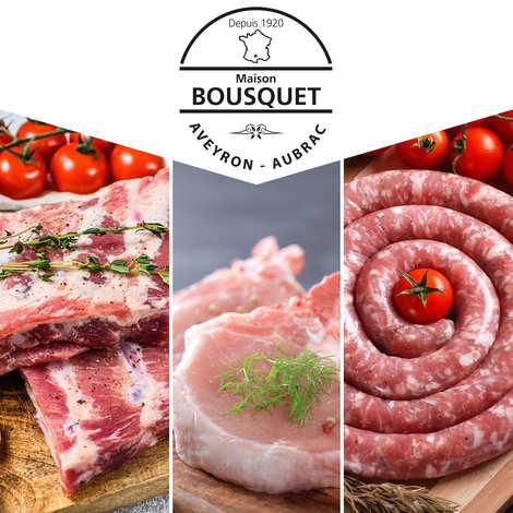 """Maison Bousquet - Gourmet meat pack """"Cochon du Rouergue"""" 3kg"""