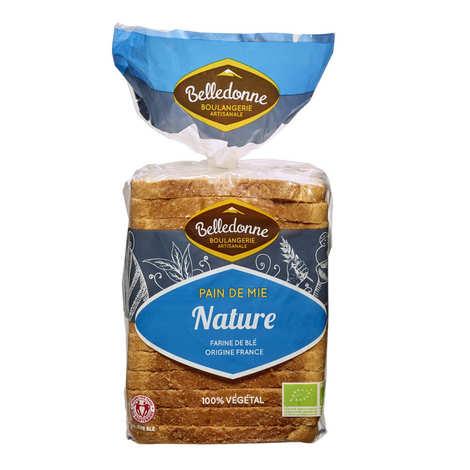 Belledonne Boulanger - Pain de mie bio Nature