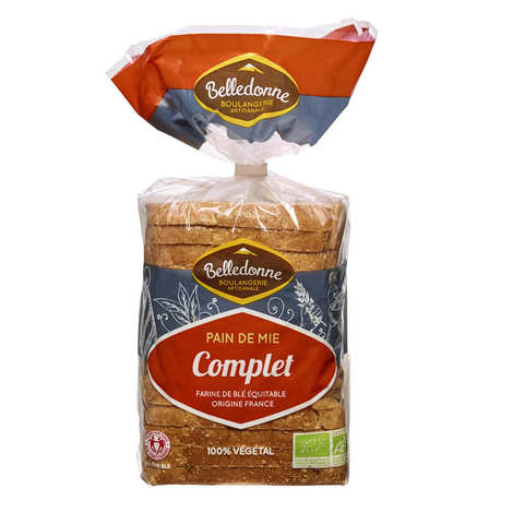 Pain de Belledonne - Organic whole soft bread