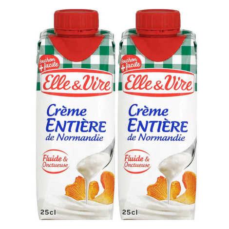 Elle & Vire - Whole liquid fresh cream 30% UHT sterilized