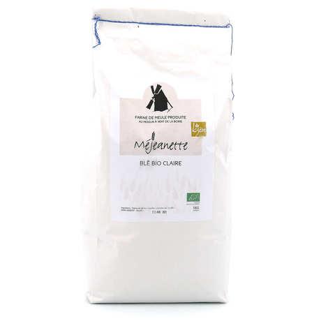 Moulin de la Borie - Lightly ground organic wheat flour - Mejeanette