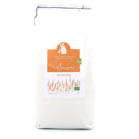 Moulin de la Borie - Farine bio de blé bise (équiv. entre T110 et T150) - Farine de meule Méjeanette