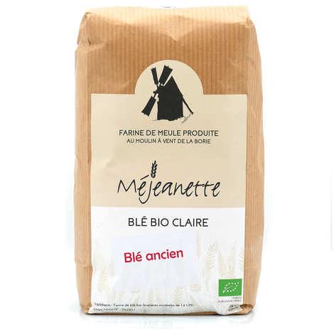 Moulin de la Borie - Ancient wheat variety (Florence Aurore) clear flour