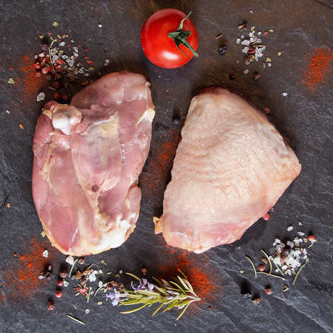 Maison Delcros - Hauts de cuisses de poulet de plein air de Lozère