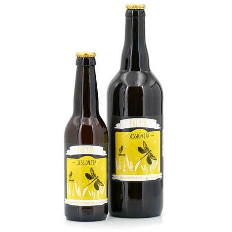 Les brasseurs de la Jonte - Bière de Lozère Freya - IPA Blonde 4,5%