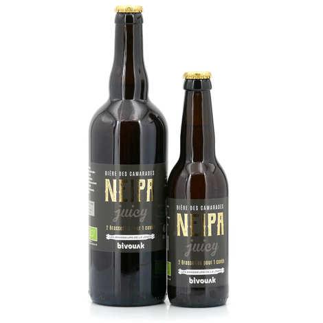 Les brasseurs de la Jonte - Bière de Lozère Neipa Bio - New England IPA à la pêche de vigne 6°