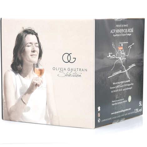 Domaine Cailhol Gautran - Olivia Gautran Selection - Rosé Wine PDO Minervois - Bib 5L