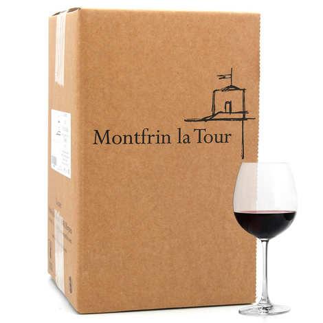 Château de Montfrin - Montfrin La Tour Organic Red Wine in 5L BIB