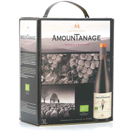 Marrenon - Amountanage vin rouge du Lubéron bio en Bib 3L