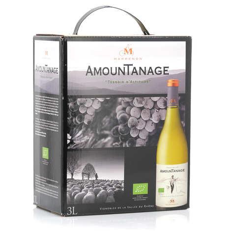 Marrenon - Amountanage Lubéron White Wine in 3L Bag in Box