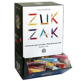 Zuk-Zak - Multi coloured sachets of sugar
