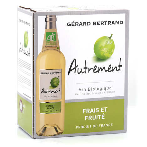 Gerard Bertrand - Autrement vin blanc bio en Bib 3L
