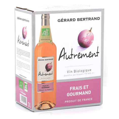 Gerard Bertrand - Autrement vin rosé bio en Bib 3L