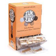 Zuk-Zak - Assortiment de 480 bûchettes de sucre nature