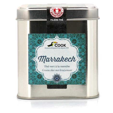 Cook - Herbier de France - Marrakech - Thé vert à la menthe bio vrac