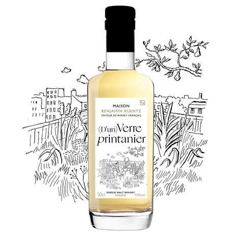 Maison Benjamin Kuentz - (D'un) Verre Printanier - Whisky Single Malt français 46%