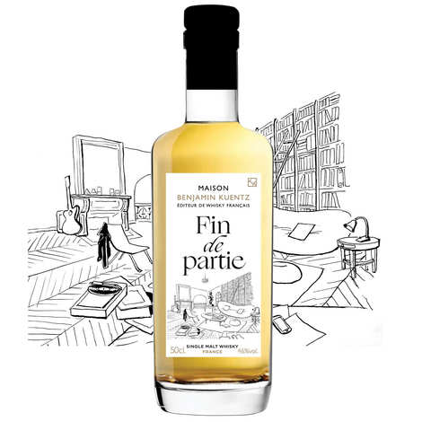 Maison Benjamin Kuentz - Fin de Partie - French Whisky Single Malt 46%