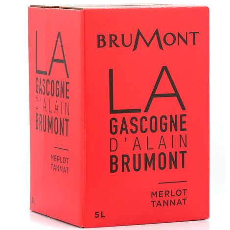 Vignobles Brumont - Côtes de Gascogne IGP vin Rouge d'Alain Brumont en Bib 5L