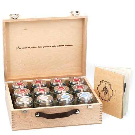 Terre Exotique - Weekend suitcase - 12 classics of salt, pepper and spices