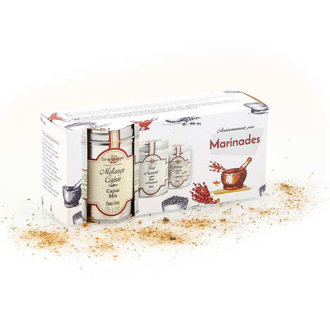 Terre Exotique - Spice box for marinades