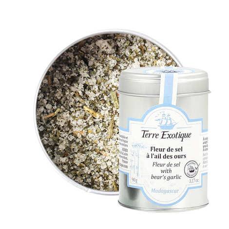 Terre Exotique - Fleur de sel à l'ail des ours