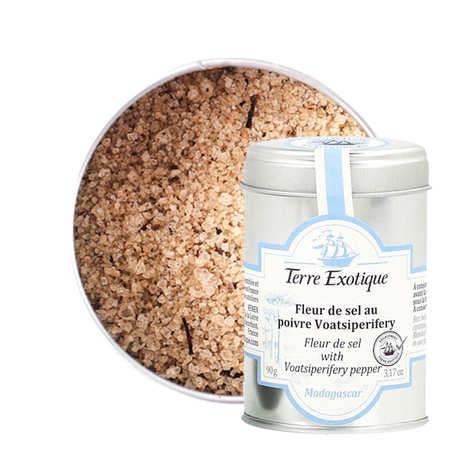 Terre Exotique - Fleur de sel au poivre Voatsiperifery