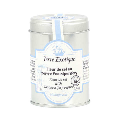 Terre Exotique - Fleur de sel with Voatsiperifery pepper
