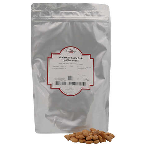 Terre Exotique - Roasted and salted Sacha Inchi seeds