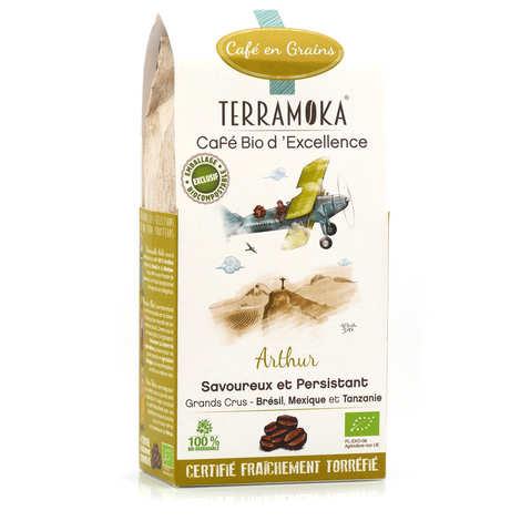 Terra Moka - Arthur - café en grains bio Arabica et Robusta