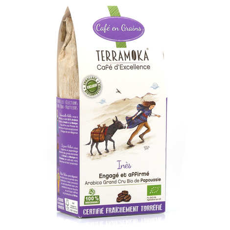 Terra Moka - Inès - Organic coffee beans