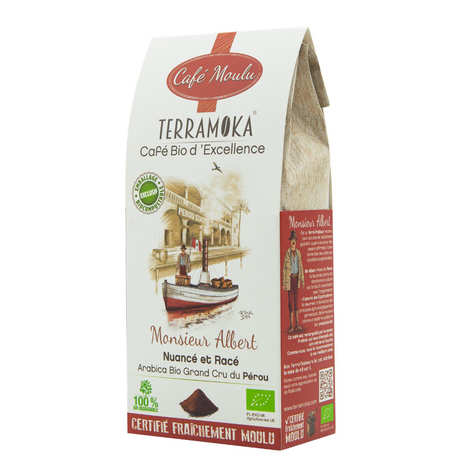 Terra Moka - Albert - café bio moulu du Pérou