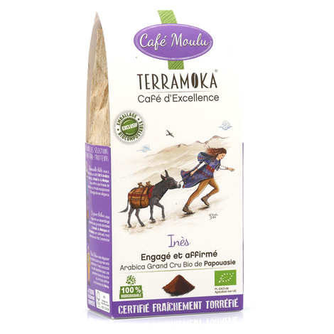 Terra Moka - Inès - Organic ground coffee from Papua New Guinea
