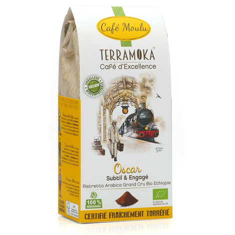 Terra Moka - Oscar - organic ground coffee from Ethiopia