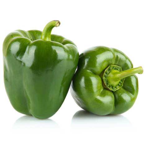 - Poivrons verts frais bio