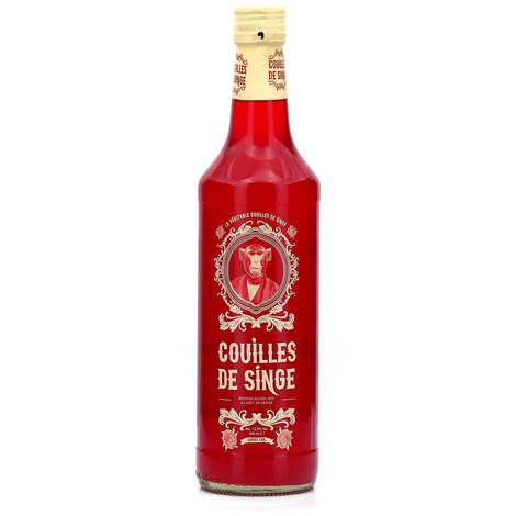 DBB Bruggeman - Couilles de singe 12.5% - Belgian cherry-flavoured liqueur