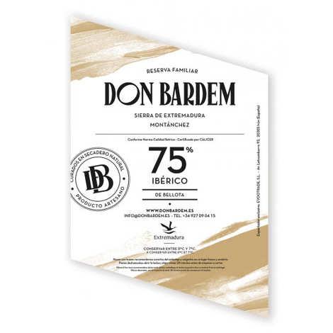 Don Bardem - Saucisson Bellota 75% Ibérique Cular