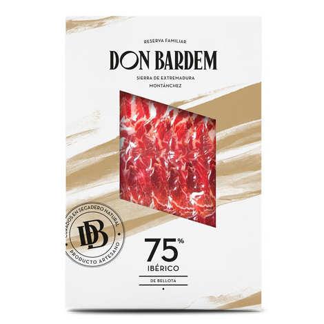 Don Bardem - Sliced Bellota shoulder 75% Iberian